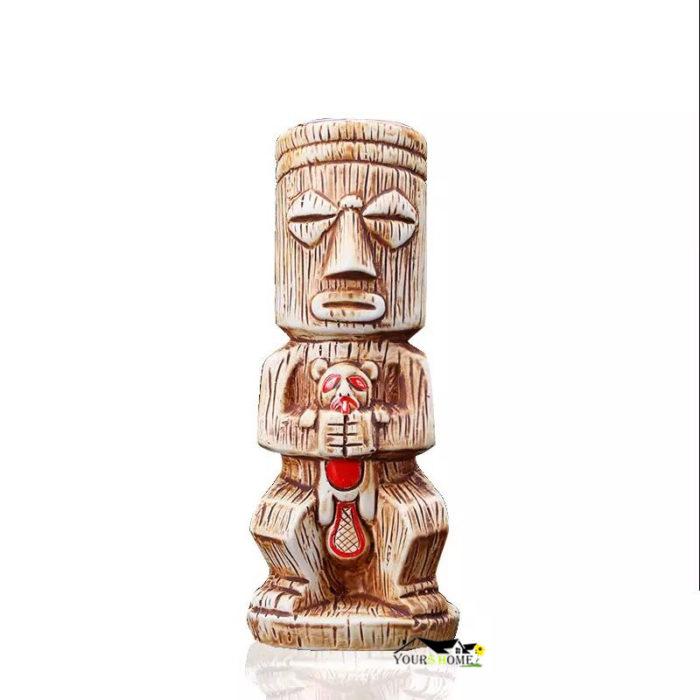 Tiki Mug 480mL Ceramic Drinkware