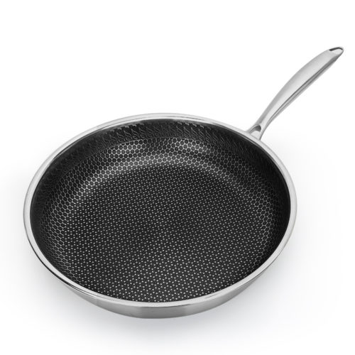 Stainless Steel Frying Pan Kitchen Skillet