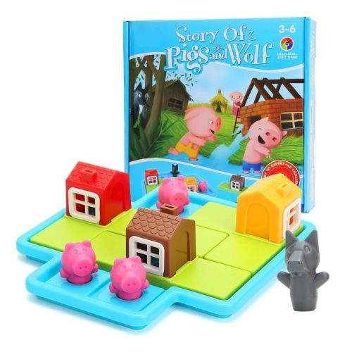 Kids Board Game 3 Little Pigs Story