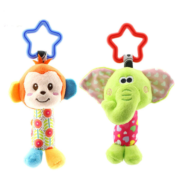 Baby Hanging Toys Animal Rattle Toys