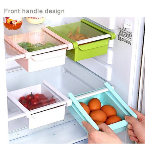 Freezer Organizer Fridge Storage Rack