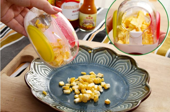 Corn Peeler Kitchen Corn Cob Cutter