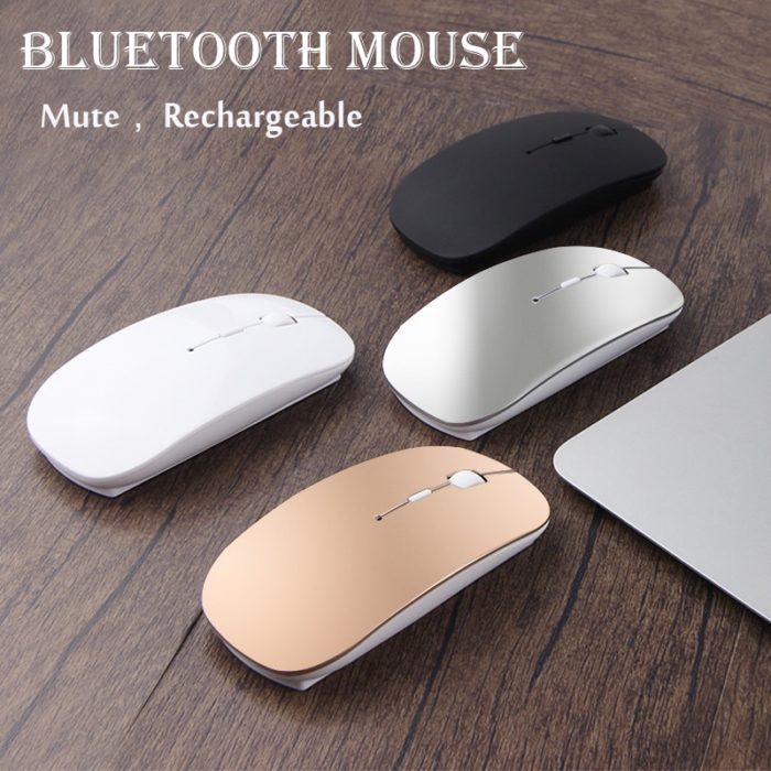 Bluetooth Wireless Mouse Rechargeable Device