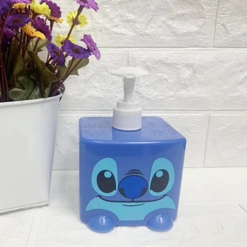 Refillable Shampoo Bottle Cartoon Design