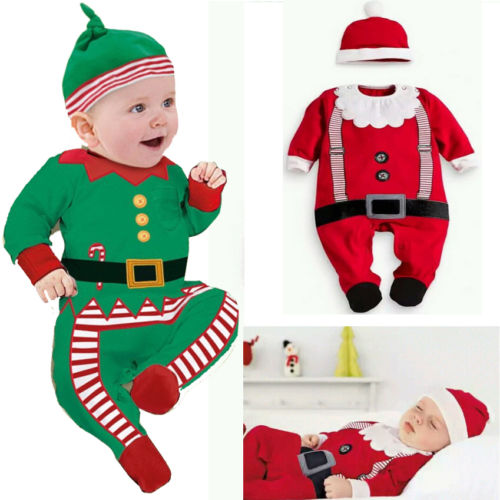 Baby Santa Outfit Christmas Costume
