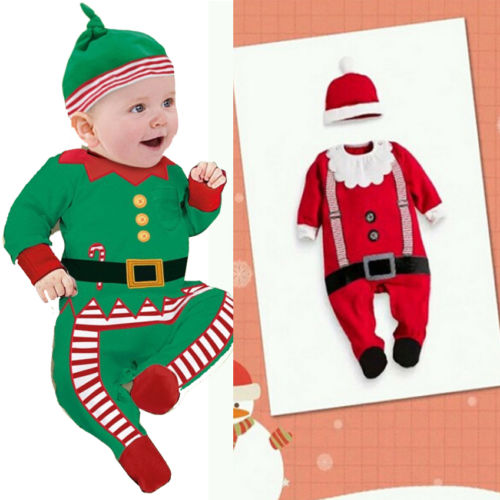 Baby Santa Outfit Features