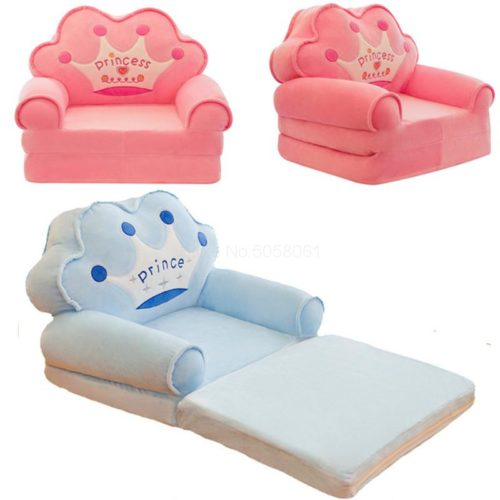 Kids Fold Out Sofa Soft Chair