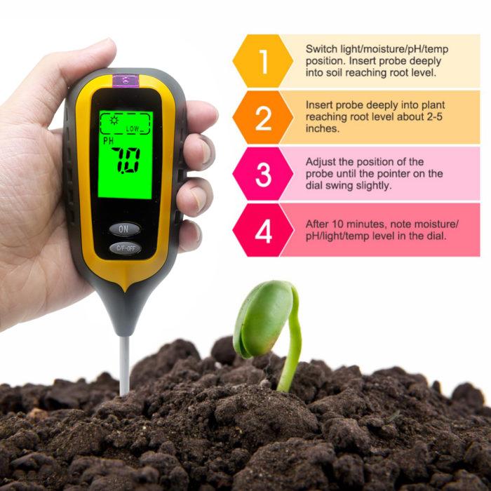 Soil Ph Tester Gardening Tools