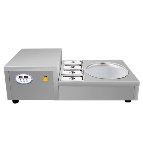 Fried Ice Cream Machine Stainless Steel