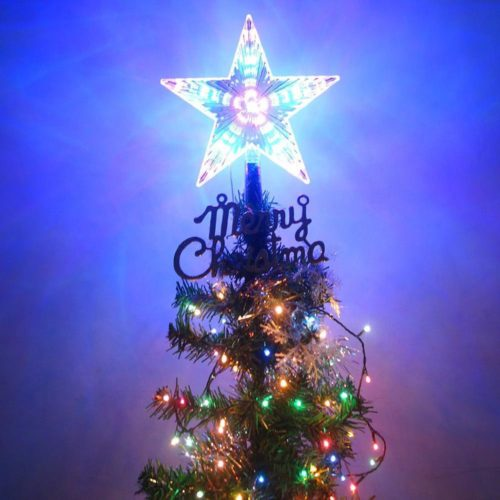 Christmas Tree Star Topper LED Decoration