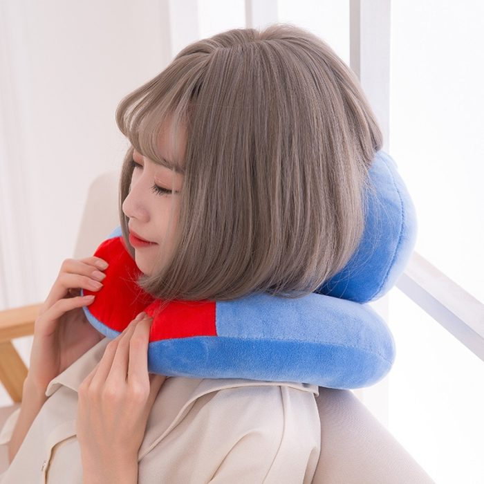 Neck Support Travel Pillow Portable Headrest