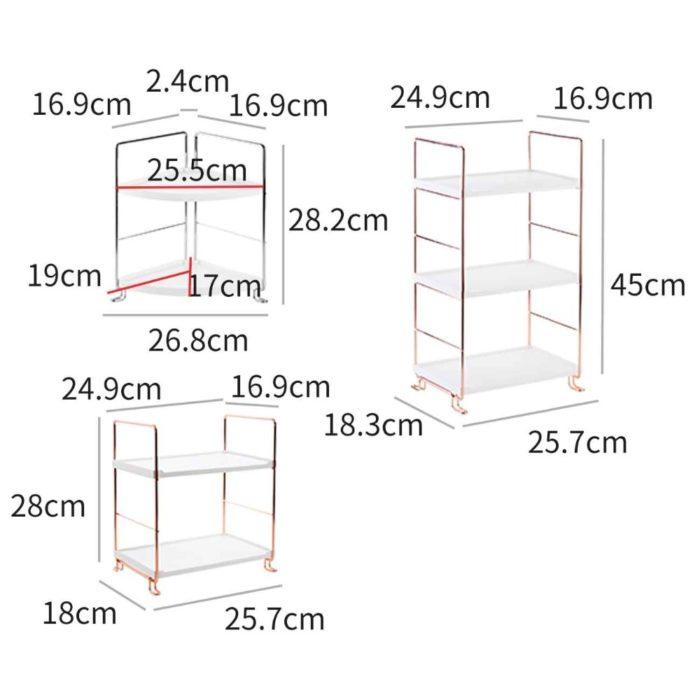 Bathroom Organizer Shelf Multi-Layer Rack