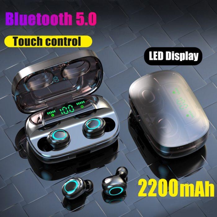 Waterproof Bluetooth Earphones Cool Earbuds