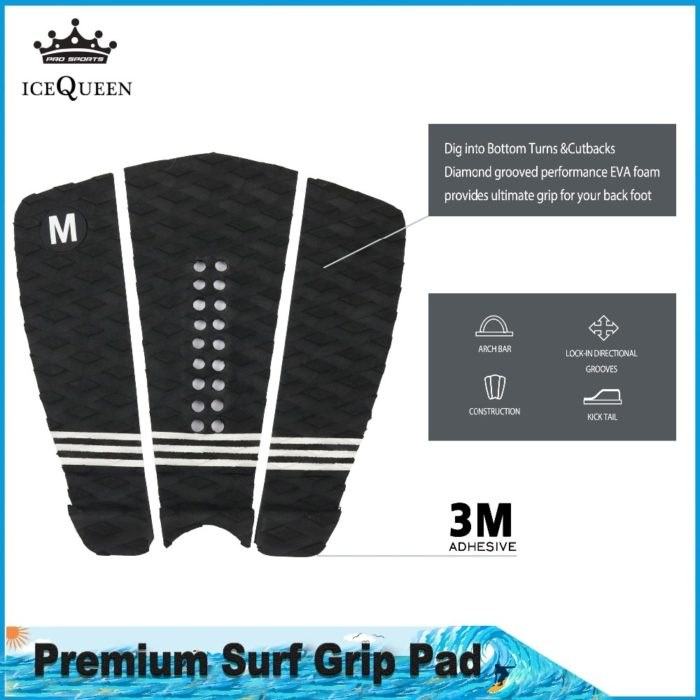 Surfboard Traction Pad Adhesive Foot Grip