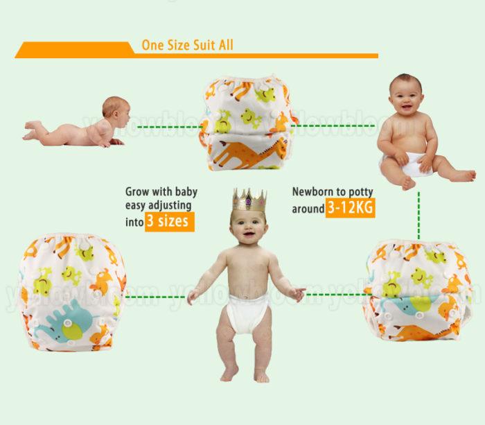 Baby Swim Pants Reusable Anti-leak Diaper