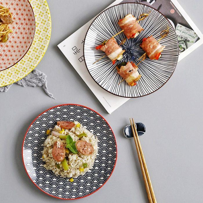Ceramic Plate Creative Designs