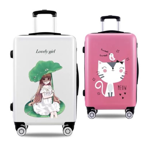 Kids Suitcase Cute Trolley Luggage