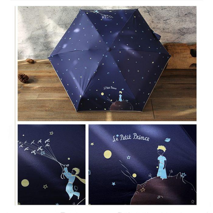 Foldable Umbrella Mini Cartoon Design