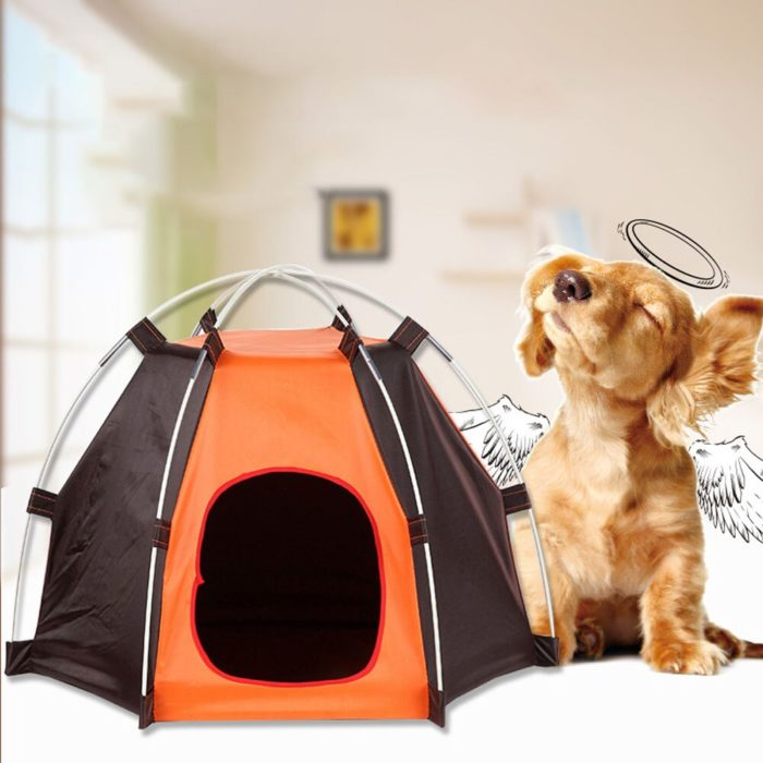 Pet Tent Waterproof Foldable House
