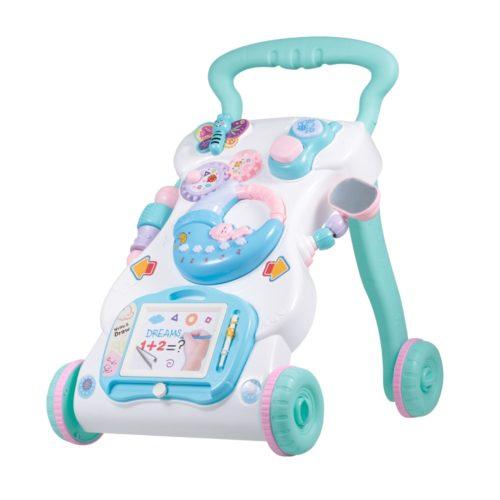 Baby Push Walker 4-Wheel Baby Toy