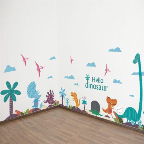 Dinosaur Wall Decal Kids Room