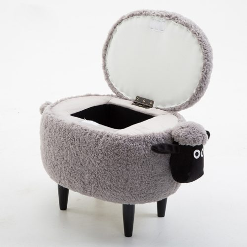 Storage Chair Kid's Stool with Compartment