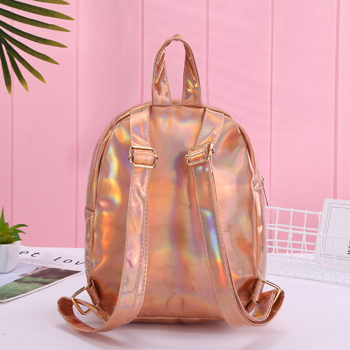 Unicorn Sequin Backpack Portable Bag
