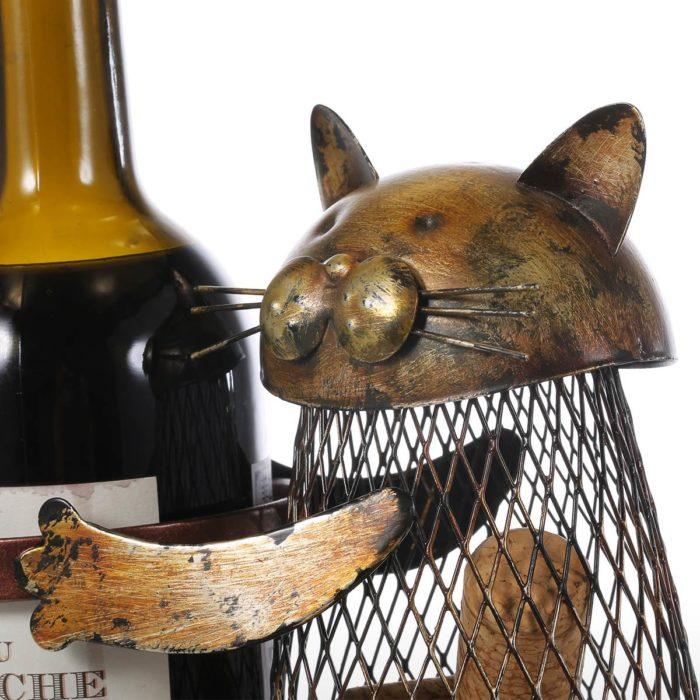 Kitchen Wine Rack Cork Container