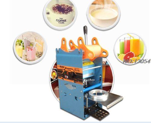 Cup Sealer Bubble Tea Cup Sealing Machine