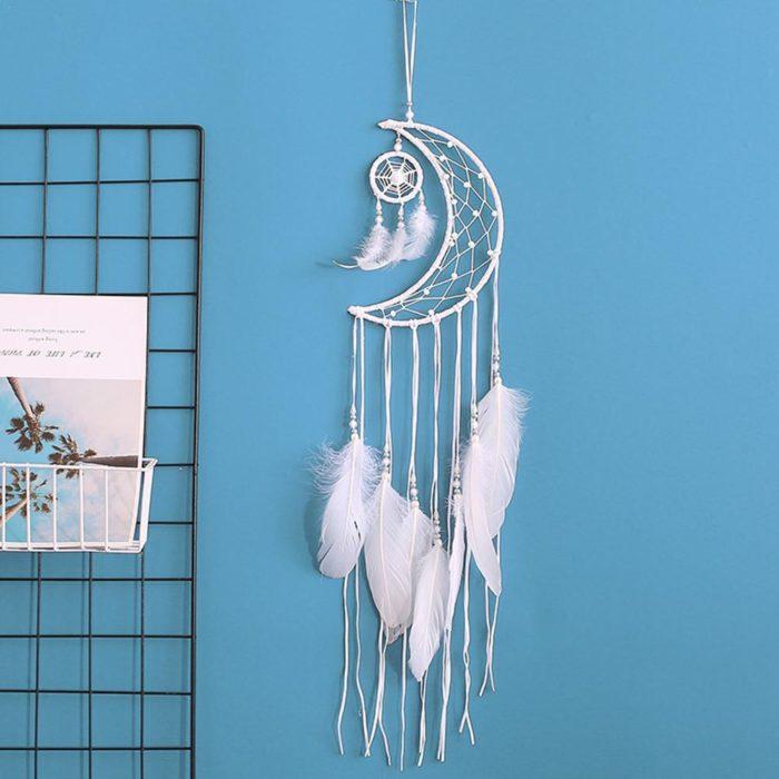 Moon Dreamcatcher Decorative Ornament