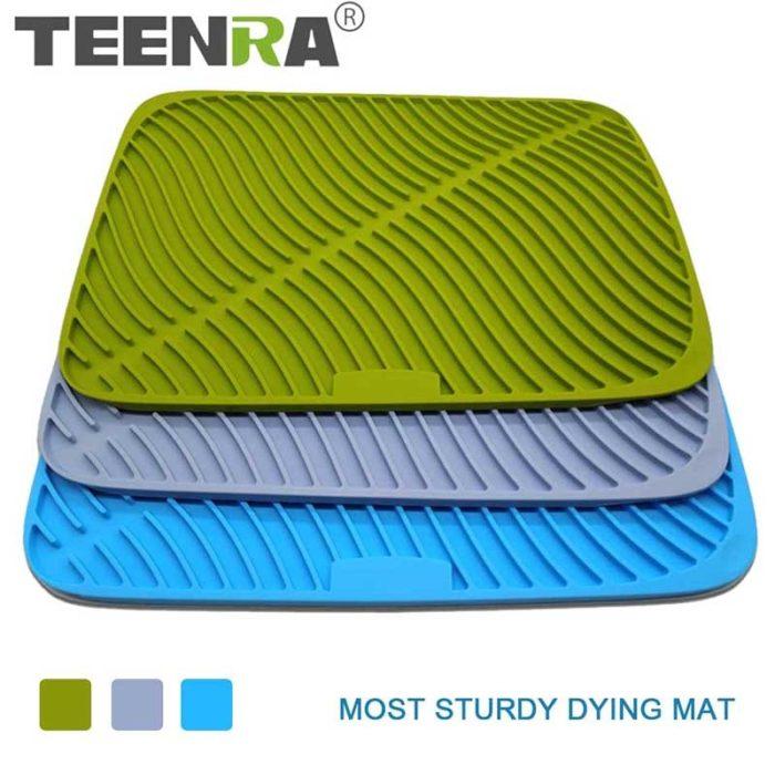 Dish Drying Mat Silicone Counter Mat