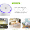 Portable Air Purifier With Night Light