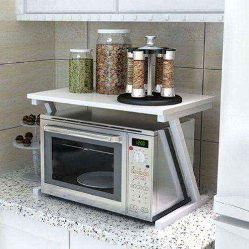 Microwave Rack Convenient Storage Shelf