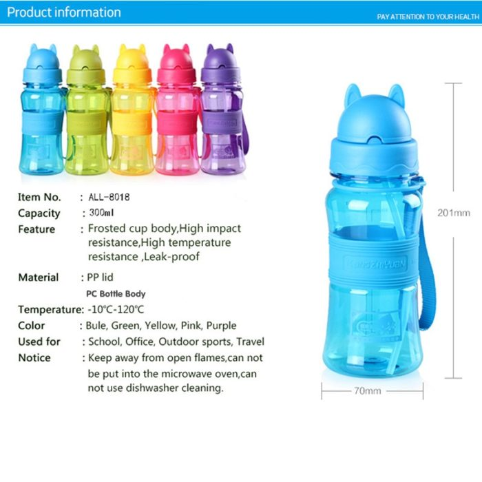 Kids Drink Bottle Portable Container