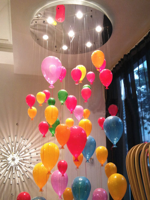 Modern Ceiling Lights Hanging Balloons