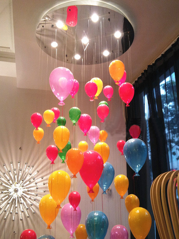 Modern Ceiling Lights Hanging Balloons