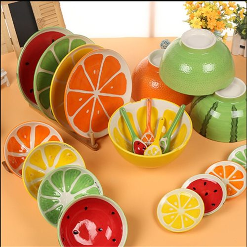 Ceramic Dishes Bowl Plate Spoon