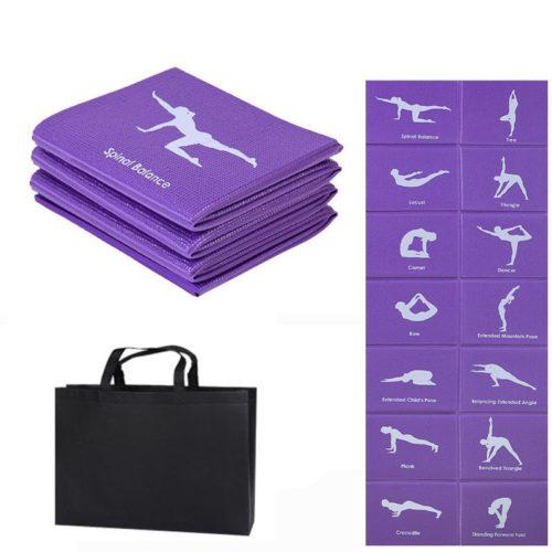 Foldable Yoga Mat Non-Slip Fitness Mats