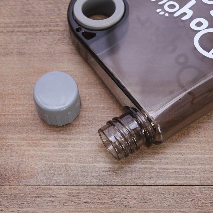 Flat Bottle 380ML Water Flask