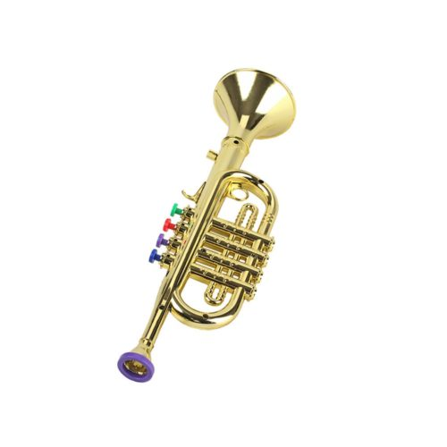 Toy Trumpet Plastic Musical Instrument