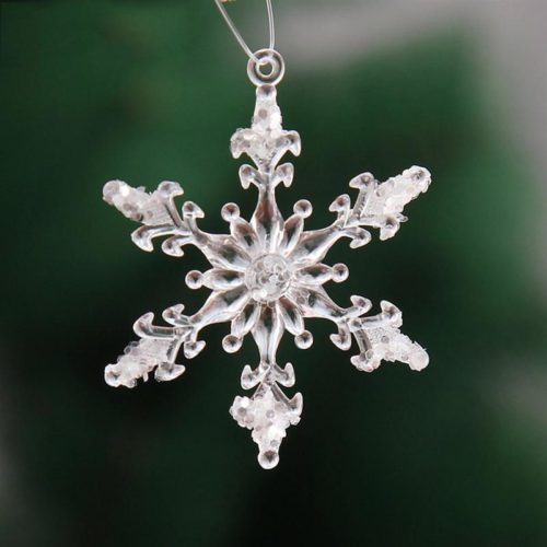 Snowflake Ornaments 12PC Decors