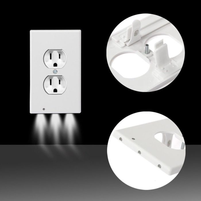 Outlet Night Light Outlet Cover