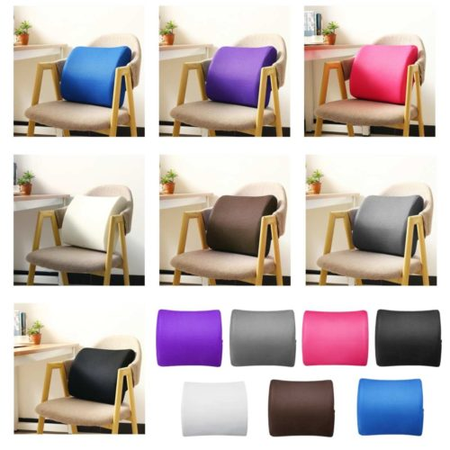 Back Cushion for Chair with Strap