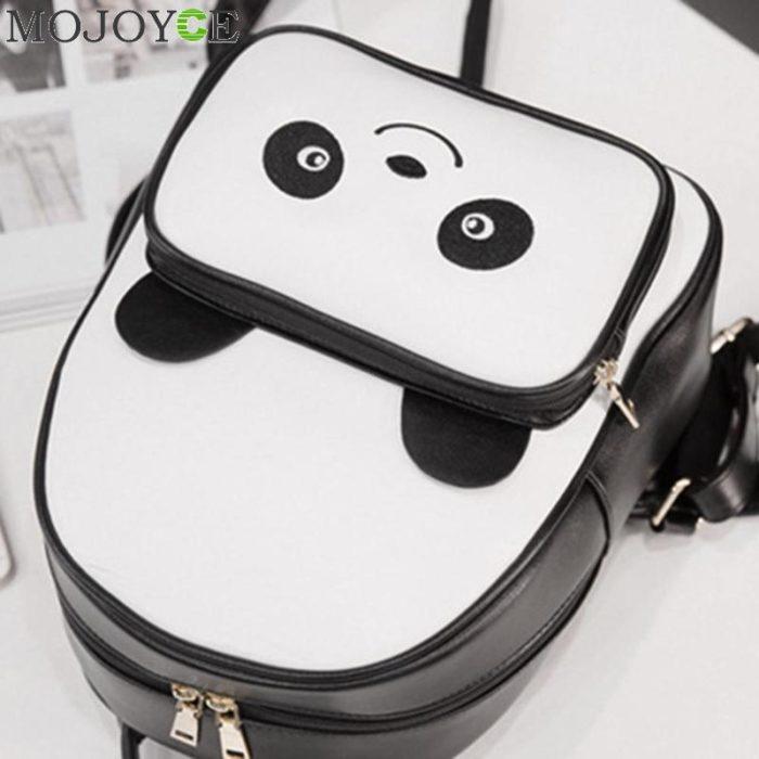 Panda Backpack Ladies Casual Bag