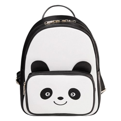 Panda Backpack Ladies Casual Bag