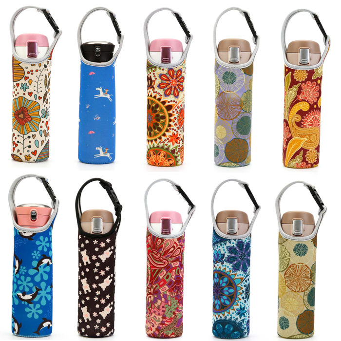Water Bottle Cover Portable Sleeve