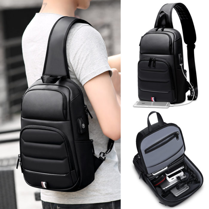 Chest Bag For Men Crossbody Bag