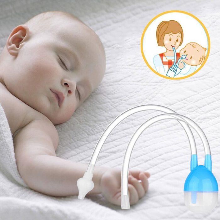 Nose Aspirator Baby Silicone Device