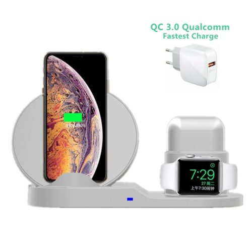 Wireless Charging Dock Fast Charger