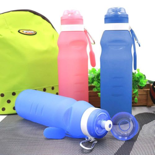 Folding Water Bottle Collapsible Flask